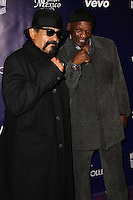 HOLLYWOOD, CA - FEBRUARY 18: Ruben Guerrero, Floyd Mayweather Sr. at the NUVOtv Series Launch Premiere Party held at Siren Studios on February 18, 2014 in Hollywood, California. (Photo by Xavier Collin/Celebrity Monitor)