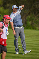 Padraig Harrington (IRL) watches his tee shot on 7 during day 2 of the Valero Texas Open, at the TPC San Antonio Oaks Course, San Antonio, Texas, USA. 4/5/2019.<br /> Picture: Golffile | Ken Murray<br /> <br /> <br /> All photo usage must carry mandatory copyright credit (© Golffile | Ken Murray)