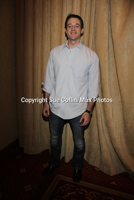 "Tom Degnan ""Joey"" OLTL at The One Life To Live Lucheon at the Hemsley Hotel in New York City, New York on October 9, 2010. (Photo by Sue Coflin/Max Photos)"