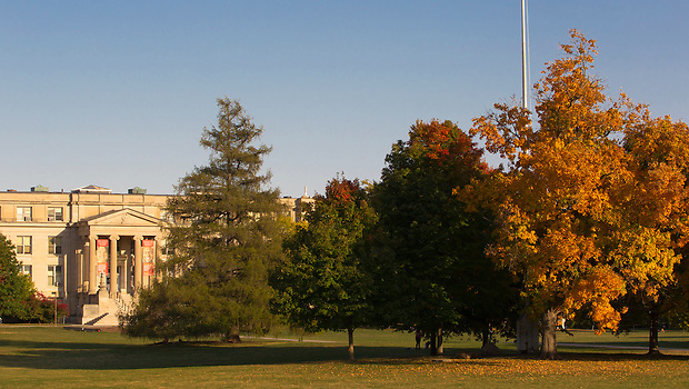 Curtiss Hall on the campus of Iowa State University in Ames, Iowa. (Christopher Gannon/Gannon Visuals)