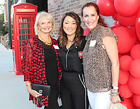 NWA Democrat-Gazette/CARIN SCHOPPMEYER Mary Bassett (from left), Liz Anderson and Jamey Sims attend the Circle of Red kick-off.