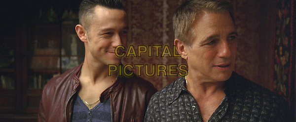 Joseph Gordon-Levitt &amp; Tony Danza<br /> in Don Jon (2013) <br /> *Filmstill - Editorial Use Only*<br /> CAP/FB<br /> Image supplied by Capital Pictures