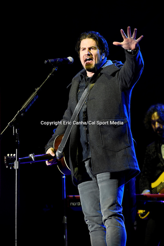Wednesday, February 3, 2016: Singer-songwriter Matt Nathason performs at Super Bowl City in San Francisco, California during the National Football League week long opening celebrations for Super Bowl 50 between the Carolina Panthers and the Denver Broncos . Eric Canha/CSM
