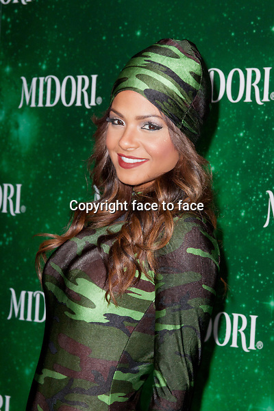 Christina Milian attends 3nd Annual Midori Green Halloween Party at Bootsy Bellows on October 29, 2013 in West Hollywood.<br /> Credit: MediaPunch/face to face<br /> - Germany, Austria, Switzerland, Eastern Europe, Australia, UK, USA, Taiwan, Singapore, China, Malaysia, Thailand, Sweden, Estonia, Latvia and Lithuania rights only -