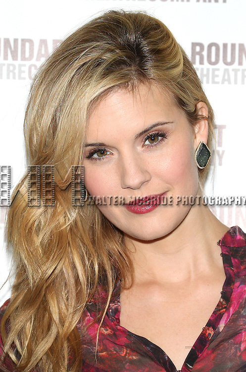 Maggie Grace attending the Meet & Greet for the Roundabout Theatre Company's 'Picnic' at their rehearsal studios  in New York City. November 29, 2012.