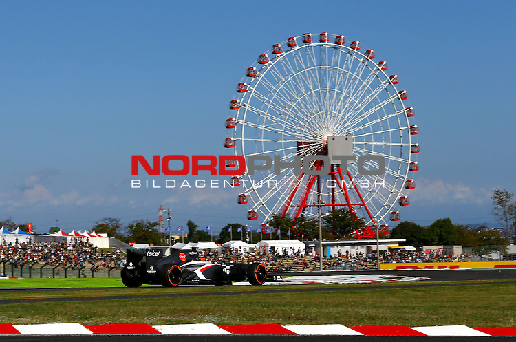 11. 13.10.2013, Suzuka International Racing Course, Suzuka, JPN, F1, Grosser Preis von Japan, Suzuka, im Bild  Nico Huelkenberg (GER), Sauber F1 Team <br /> for Austria &amp; Germany Media usage only!<br />  Foto &copy; nph / Mathis