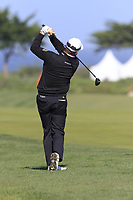 Graeme McDowell (NIR) plays his 2nd shot on the 6th hole of Monterey Peninsula CC during Saturday's Round 3 of the 2018 AT&amp;T Pebble Beach Pro-Am, held over 3 courses Pebble Beach, Spyglass Hill and Monterey, California, USA. 10th February 2018.<br /> Picture: Eoin Clarke | Golffile<br /> <br /> <br /> All photos usage must carry mandatory copyright credit (&copy; Golffile | Eoin Clarke)