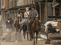WESTWORLD (season 2)<br /> PATRICIA CAGE II, EVAN RACHEL WOOD, JAMES MARSDEN<br /> *Filmstill - Editorial Use Only*<br /> CAP/FB<br /> Image supplied by Capital Pictures