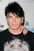 HOLLYWOOD, CA - NOVEMBER 8: Gary Numan at the Pop-Up Art Show by Billy Morrison and Steve Stevens at Ken Paves Salon in West Hollywood, California on November 8, 2019. Credit: David Edwards/MediaPunch