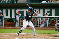 Northwest League All-Star Robert Garcia (10) of the Eugene Emeralds at bat against the Pioneer League All-Stars at the 2nd Annual Northwest League-Pioneer League All-Star Game at Lindquist Field on August 2, 2016 in Ogden, Utah. The Northwest League defeated the Pioneer League 11-5. (Stephen Smith/Four Seam Images)