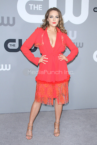 NEW YORK, NY May 17, 2018: Elizabeth Gillies attend CW Upfront 2018 at the London Hotel in New York. May 17, 2018 Credit:/RW/MediaPunch