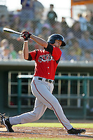 May 2, 2010: Joe Agreste of the Lake Elsinore Storm during game against the Lancaster JetHawks at Clear Channel Stadium in Lancaster,CA.  Photo by Larry Goren/Four Seam Images