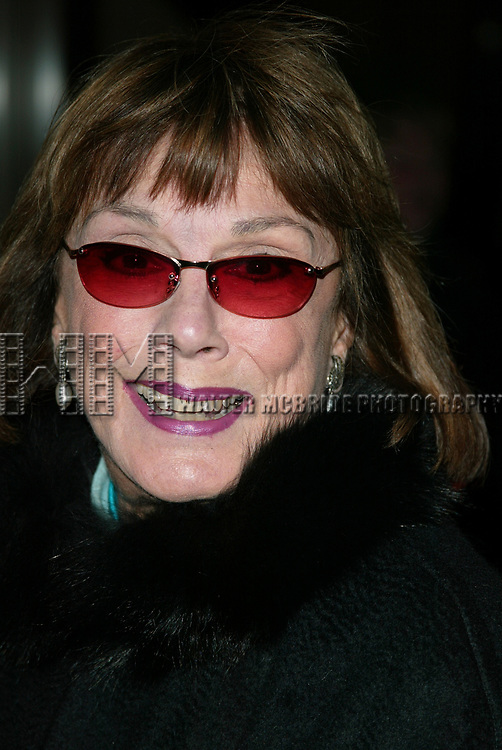 Phyllis Newman at The Kennedy Center Presents <br />The Sondheim Celebration<br />Music and Lyrics by Stephen Sondheim<br />Avery Fisher Hall, Lincoln Center<br />New York City<br />October 21, 2002