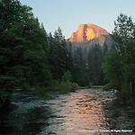 Half-Dome Sunset, Yosemite