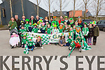 Listry GAA pictured at Milltown Saint Patrick's day parade on Tueday