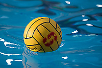 STANFORD, CA - February 4, 2018: Ball at Avery Aquatic Center. The Stanford Cardinal defeated Long Beach State 14-2.