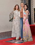 Lucy Liu Honored With Star On The Hollywood Walk Of Fame on May 01, 2019 in Hollywood, California.<br /> Lucy Liu 035 Drew Barrymore, Cameron Diaz