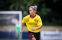 Simona Petkova of Watford Ladies during the pre season friendly match between Stevenage Ladies FC and Watford Ladies at The County Ground, Letchworth Garden City, England on 16 July 2017. Photo by Andy Rowland / PRiME Media Images.