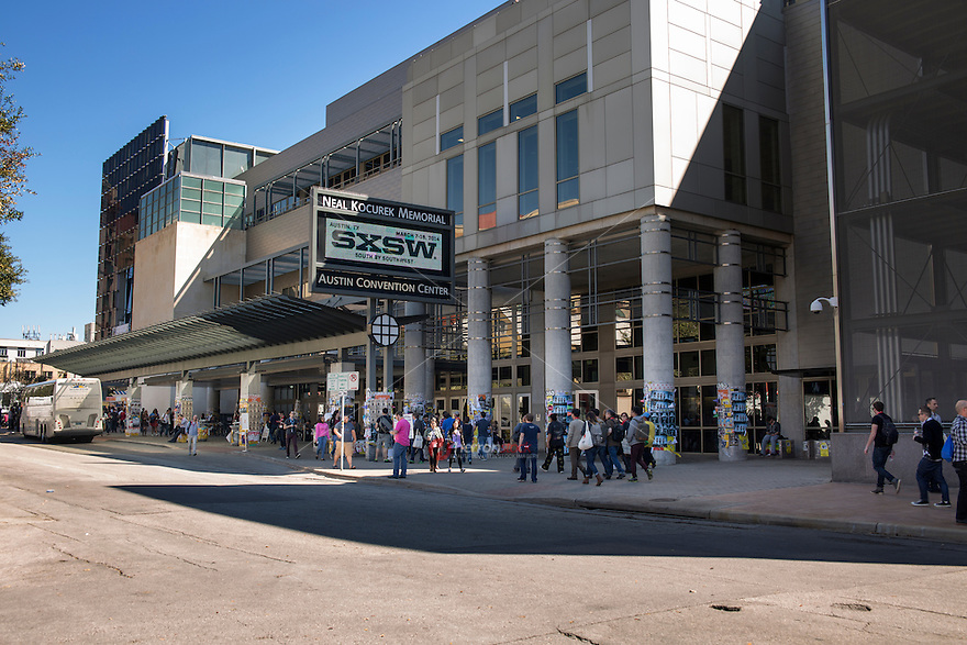 The Austin Convention Center, in the heart of downtown Austin, is central to the SXSW experience. That is the first place registrants go to pick up their badge and where they will spend most of their time at conference panels and keynotes, the trade shows and hundreds of other scheduled activities.