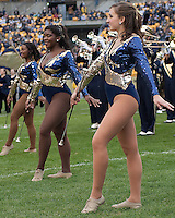 Pittsburgh majorettes. The Pittsburgh Panthers defeated the South Florida Bulls 41-14 at Heinz Field, Pittsburgh, PA on October 24, 2009.
