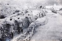 BNPS.co.uk (01202 558833)<br /> Pic: LaceyScott&Knight/BNPS<br /> <br /> British Indian troops dug in to defensive positions similar to those on the Western Front.<br /> <br /> From the far reaches of the British Empire - Remarkable previously unseen photos of a forgotten military campaign has come to light 100 years later.<br /> <br /> The little known Waziristan campaign of 1919 and 1920 saw the British and Indian forces engaged in fierce fighting against Afghan tribesman who invaded northern India.<br /> <br /> However, the conflict, which saw the use of the might of the RAF in targeted bombing raids, has become almost lost to history since it took place just after the Great War.<br /> <br /> The battleground was the rugged, remote, mountainous region which is modern day northern Pakistan, on the southern border of Afghanistan.