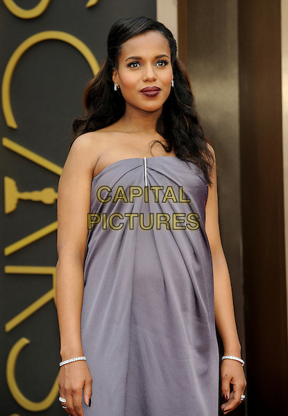 HOLLYWOOD, CA - MARCH 2: Kerry Washington arriving to the 2014 Oscars at the Hollywood and Highland Center in Hollywood, California. March 2, 2014. <br /> CAP/MPI/COR99<br /> &copy;COR99/MediaPunch/Capital Pictures