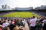 Stockholm 2013-06-23 Fotboll Superettan , Hammarby IF - &Auml;ngelholms FF :  <br /> Vy &ouml;ver planen fr&aring;n &Ouml;stra l&auml;ktaren under sista matchen p&aring; S&ouml;derstadion<br /> (Foto: Kenta J&ouml;nsson) Nyckelord:  supporter fans publik supporters utomhus exteri&ouml;r exterior