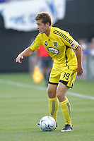 Robbie Rogers..Columbus Crew defeated Kansas City Wizards 2-0 at Community America Ballpark, Kansas  City, Kansas.