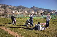 Palermo: l'orto urbano condiviso nella periferia nord, durante i weekend diviene luogo di aggregazione per le famiglie.<br /> Palermo: community garden within the city: during the weekend become a meeting place for families.