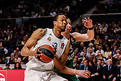 22nd March 2018, Wizink Centre, Madrid, Spain; Turkish Airlines Euroleague Basketball, Real Madrid versus Zalgiris Kaunas; Anthony Randolph (Real Madrid Baloncesto) in action during the match