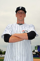 Staten Island Yankees pitcher Zachary Varce (33) during first team workout at Richmond County Bank Ballpark at St. George in Staten Island, NY June 15, 2010.  Photo By Tomasso DeRosa/ Four Seam Images