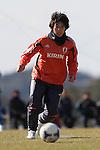 Megumi Takase (JPN), .FEBRUARY 11, 2012 - Football / Soccer : Nadeshiko Japan team training Wakayama camp at Kamitonda Sports Center in Wakayama, Japan. (Photo by Akihiro Sugimoto/AFLO SPORT) [1080]
