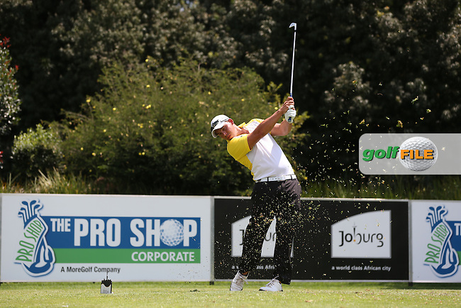 Anthony Michael (RSA) on the West Course during Round Two of the Joburg Open 2015 at the Royal Johannesburg & Kensington Golf Club, Johannesburg, Gauteng, South Africa. Picture:  David Lloyd / www.golffile.ie. 27/02/2015