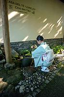 Svizzera, Canton Ticino, Ascona, Monte Verità, cerimonia del thè,
