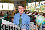 "SCHOOLS OUT"" James Crowley, principle of St. Brendan's National School in Fenit, who is to retire from teaching on Friday next after 36 years.."