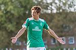 04.09.2018, Hoheellern-Stadion, Leer, GER, FSP, Werder Bremen (GER) vs FC Emmen (NED)<br /> <br /> DFL REGULATIONS PROHIBIT ANY USE OF PHOTOGRAPHS AS IMAGE SEQUENCES AND/OR QUASI-VIDEO.<br /> <br /> im Bild / picture shows<br /> Yuya Osako (Werder Bremen #08) ärgert sich, <br /> <br /> Foto © nordphoto / Ewert