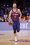 League ACB-ENDESA 2017/2018 - Game: 11.<br /> FC Barcelona Lassa vs Iberostar Tenerife: 91-93.<br /> Juan Carlos Navarro.
