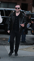 MAR 12 Ricky Gervais seen In NYC
