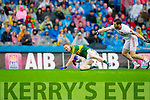 Colm Cooper, Kerry in Action Against  Ronan McNamee,Tyrone in the All Ireland Semi Final at Croke Park on Sunday.