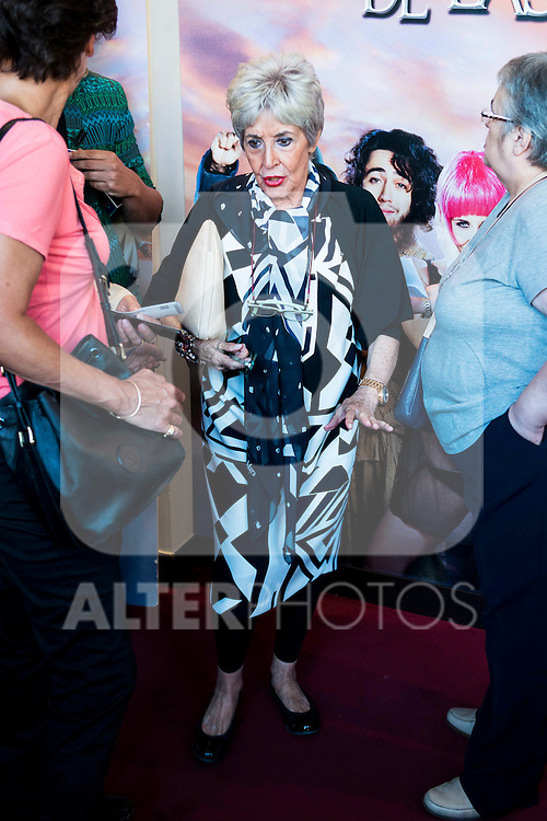 "Concha Velasco during the red carpet of the theater play ""La Asamblea de las Mujeres"" at Teatro La Latina in Madrid. August 25. 2016. (ALTERPHOTOS/Borja B.Hojas)"