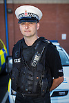 &copy; Licensed to London News Pictures . FILE PICTURE DATED 17/08/2013 . Manchester , UK .  INSPECTOR MATT BAILEY-SMITH of Greater Manchester Police . <br /> <br /> A man has been jailed for seven years after killing his friend whilst drink driving. Liam Colin Creathorne of Urmston , Greater Manchester , had been out drinking with friend John Hodson on Saturday 27th October 2012 when he lost control of his car , spinning it on a bend in the road before ploughing in to a tree . John (27) suffered head injuries so severe that he died in hospital the following morning<br /> <br /> Creathorne (24) , who suffered a chest injury in the crash , pleaded guilty and , alongside the lengthy sentence , was also banned from driving for seven years.<br /> <br /> Inspector Matt Bailey-Smith of Greater Manchester Police said &quot;First and foremost, our thoughts are with the family of John Hodson, who were left devastated by this tragedy a year ago.<br /> <br /> &quot;Creathorne should never have been behind the wheel of that car that night. Not only that, he then went onto drive in such a reckless manner that in that moment the lives of both men were at risk.<br /> <br /> &quot;Today, Creathorne has rightly been jailed for what he has done but he will have to live with what he has done to his friend for the rest of his life.<br /> <br /> &quot;Creathorne has been given a very lengthy jail sentence and I hope this acts as a powerful deterrent to anyone who thinks about getting behind the wheel of a car while drunk. To do so puts the lives of innocent people at risk and in tragic circumstances like these, robs families of their loved ones. If you do, you could find yourself behind bars for a long time and just as importantly living with the guilt of killing someone for the rest of your life&quot;.<br /> <br /> Photo credit : Joel Goodman/LNP