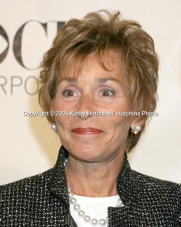 Judy Sheindlin .CBS TV TCA Party.The Wind Tunnel.Pasadena, CA.January 18, 2006.©2006 Kathy Hutchins / Hutchins Photo....