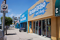 Ocean Echo surf shop in Venice beach California established in 1989