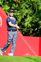 Brandon Grace (RSA) on the 16th tee during the 3rd round at the WGC HSBC Champions 2018, Sheshan Golf CLub, Shanghai, China. 27/10/2018.<br /> Picture Fran Caffrey / Golffile.ie<br /> <br /> All photo usage must carry mandatory copyright credit (&copy; Golffile | Fran Caffrey)