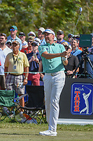 Ian Poulter (ENG) watches his tee shot on 7 during round 2 of the Arnold Palmer Invitational at Bay Hill Golf Club, Bay Hill, Florida. 3/8/2019.<br />
