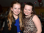 Megan O'Connor and Sophie Fagan pictured at Eimear O'Connor's 18th birthday in the Thatch. Photo:Colin Bell/pressphotos.ie
