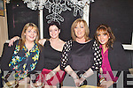 Sinead Sheehy, Tracy Dunne, Claire Clancy and Hannah McGrath from Altered Images pictured here last Saturday night where traders and business's from Church Street, Listowel  came together for a special Christmas party in Allos Restaurant, Listowel.