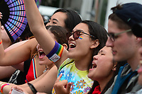 Washington, DC - June 9, 2019: Thousands of people gathered along Pennsylvania Ave. in Washington, DC for the Capital Pride concert June 9, 2019. (Photo by Don Baxter/Media Images International)