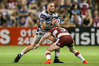 Picture by David Neilson/SWpix.com/PhotosportNZ - 10/02/2018 - Rugby League - Betfred Super League - Wigan Warriors v Hull FC  - WIN Stadium, Wollongong, Australia - Hull FC's Josh Griffin.