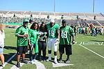 DENTON, TX - OCTOBER 27: University North Texas Mean Green Football v. Rice University at Apogee Field in Denton October 27, 2018 in Denton, Texas. Photo: Rick Yeatts